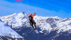 Speedriding-Val d'Isère, Espace Killy-Formation de Perfectionnement Speedriding à Val d'Isère-1