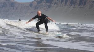 Surf-Caleta de Famara, Lanzarote-Intermediate surfing course in Caleta de Famara, Lanzarote-4