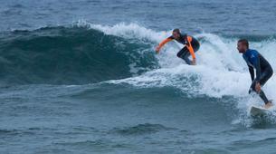 Surf-Caleta de Famara, Lanzarote-Intermediate surfing course in Caleta de Famara, Lanzarote-1