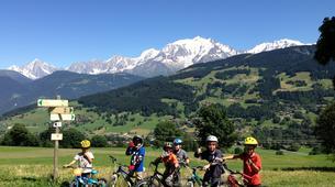 Mountain bike-Megève, Evasion Mont Blanc-Cours de VTT à Megève-3