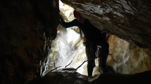 Canyoning-Sierra de Guara-Canyoning at Peonera Gorge in Sierra de Guara-14