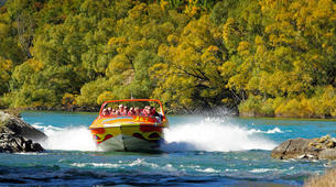 Jet Boat-Queenstown-Jet boating on the Kawarau River, Queenstown-3