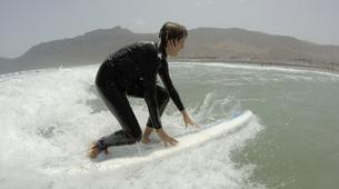 Surfing-Caleta de Famara, Lanzarote-Beginner surfing course in Caleta de Famara, Lanzarote-14