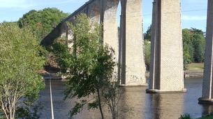 Bungee Jumping-Vienne-Saut à l'Elastique au Viaduc de l'Isle Jourdain près de Poitiers (47 mètres)-4
