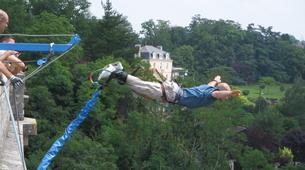 Bungee Jumping-Vienne-Saut à l'Elastique au Viaduc de l'Isle Jourdain près de Poitiers (47 mètres)-2