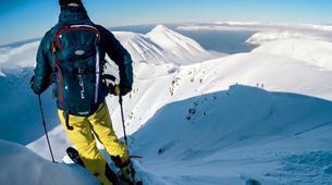 Ski touring-Northeastern Region of Iceland-5 Day heli assisted ski touring trip in Tröllaskagi, Northeastern Region of Iceland-2