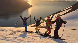 Ski touring-Northeastern Region of Iceland-5 Day heli assisted ski touring trip in Tröllaskagi, Northeastern Region of Iceland-5