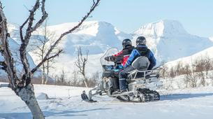 Snowmobiling-Tromsø-Snowmobile excursions in Tromso-1