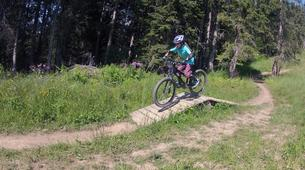 Mountain bike-Megève, Evasion Mont Blanc-Cours de VTT à Megève-6