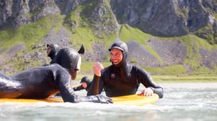 Surf-Lofoten-Arctic surfing in Unstad Bay, Lofoten-5