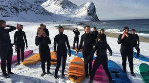 Surf-Lofoten-Arctic surfing in Unstad Bay, Lofoten-3