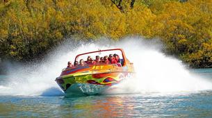 Jet Boat-Queenstown-Jet boating on the Kawarau River, Queenstown-6