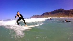 Surf-Caleta de Famara, Lanzarote-Intermediate surfing course in Caleta de Famara, Lanzarote-5