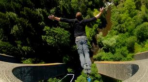 Bungee Jumping-Haute-Loire-Bungee jumping from Viaduc de la Recoumène (65 m) near Le Puy en Velay-4