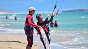 Kitesurfing-Tarifa-Semi-private kitesurfing lessons in Tarifa, Spain-1