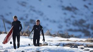 Surf-Lofoten-Arctic surfing in Unstad Bay, Lofoten-2