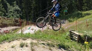 Mountain bike-Megève, Evasion Mont Blanc-Cours de VTT à Megève-1