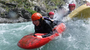 Hydrospeed-Queenstown-Sledging excursion on Kawarau River-1