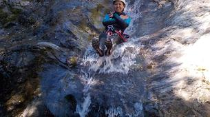 Canyoning-Céret-Canyon of Cascades Baoussous near Ceret-1