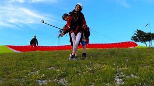 Paragliding-Ioannina-Tandem paragliding flight over Ioanina Lake, Greece-6