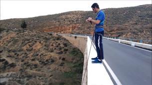 Saut à l'élastique-Costa Almería-Bridge Swinging from Gador in Almeria-1