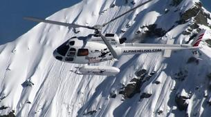 Heliskiing-Queenstown-Private charter heliskiing trip from Queenstown-3