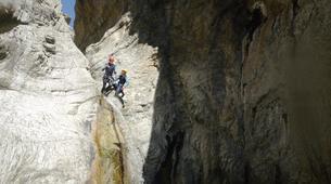 Canyoning-Ajaccio-Canyon de la Richiusa à Bocognano, près d'Ajaccio-10