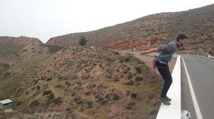Saut à l'élastique-Costa Almería-Bridge Swinging from Gador in Almeria-5