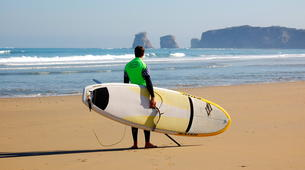 Surfing-Hendaye-Surfing lessons in Hendaye: beginners or intermediate surfers-6