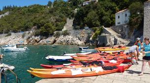 Kayak de mer-Dubrovnik-7 Day sea kayaking tour around the Elaphite Islands, near Dubrovnik-2