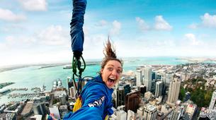 Bungee Jumping-Auckland-SkyJump (192m. and Jump Speed of 85kph) in Auckland-4