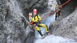 Canyoning-Ötztal-Canyoning the Alpenrosenklamm in the Ötztal, near Innsbruck-4