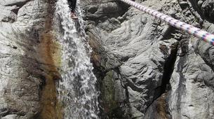 Canyoning-Ajaccio-Canyon de la Richiusa à Bocognano, près d'Ajaccio-7
