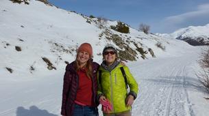 Snowshoeing-Briançon, Serre-Chevalier-Hiking week-end in the vallée de la Clarée, Hautes-Alpes-4