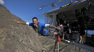 Bungee Jumping-Queenstown-Bungee jumping over Nevis River (134m. Australasia's Highest) in Queenstown-2