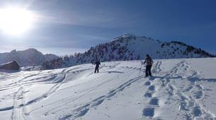 Snowshoeing-Briançon, Serre-Chevalier-Hiking week-end in the vallée de la Clarée, Hautes-Alpes-1