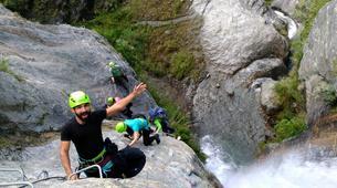 Via Ferrata-Wanaka-'Wild Things ' Twin Falls Waterfall Cable Climb in Wanaka-1