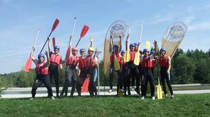 Rafting-Munich-Canoe-Rafting on Isar River, near Munich-2