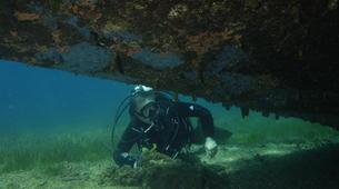 Scuba Diving-Kythnos-Shipwreck scuba diving in Kythnos-2