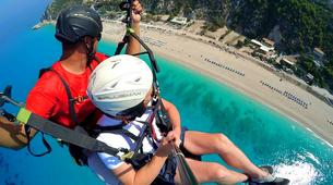 Paragliding-Lefkada-Tandem paragliding flight over Lefkada, Greece-2