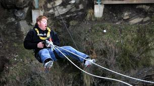 Bungee Jumping-Queenstown-Swing 400 metres from the Ledge (Epic Views) over Queenstown-2