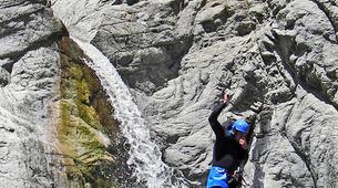 Canyoning-Ajaccio-Canyon de la Richiusa à Bocognano, près d'Ajaccio-3