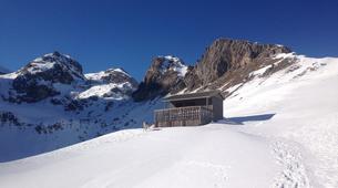 Snowshoeing-Briançon, Serre-Chevalier-Hiking week-end in the vallée de la Clarée, Hautes-Alpes-2