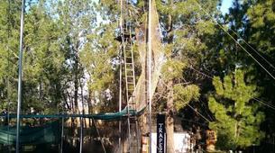 Tyrolienne-Drakensberg-Flying trapeze swing in Drakensberg-4