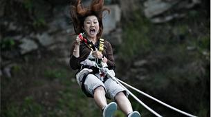 Bungee Jumping-Queenstown-Swing 400 metres from the Ledge (Epic Views) over Queenstown-4