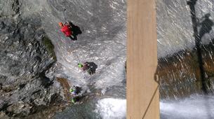 Via Ferrata-Wanaka-'Wild Things ' Twin Falls Waterfall Cable Climb in Wanaka-3