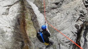 Canyoning-Ajaccio-Canyon de la Richiusa à Bocognano, près d'Ajaccio-5