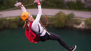 Zip-Lining-Omis-Ziplining over Cetina River, Omis-4