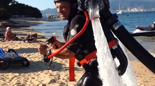 Flyboard / Hoverboard-Ajaccio-Flyboard, hoverboard or jetpack session in the Gulf of Ajaccio, Corsica-5