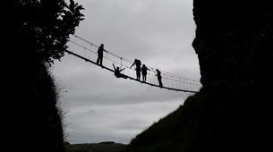 Via Ferrata-Wanaka-'Wild Things ' Twin Falls Waterfall Cable Climb in Wanaka-5